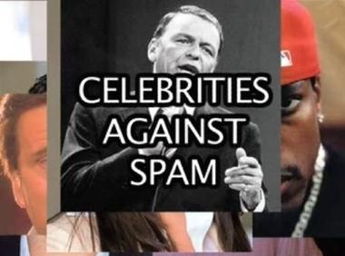 Celebrities Against Spam