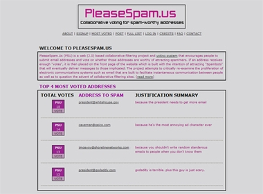 Please Spam Us
